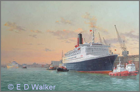 QE2 at Southampton